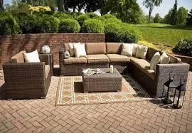 splendid look u201d outdoor wicker coffee table with chairs idea