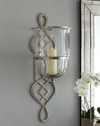 Candle Holder Wall Sconces Awesome Glass Candle Holders For Wall Sconces Ideas Interior