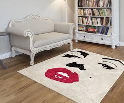 custom marilynmonroe wool rug vanities pinterest wool rug