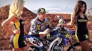 transworld motocross models star valli yamaha rockstar model photo shoot youtube