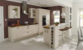 modern kitchen colour schemes remo contemporary curved gloss kitchen in beige