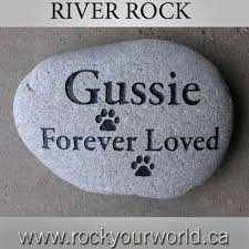 pet memorial stone stone engraving ontario