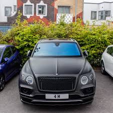 matte black first edition bentayga madwhips