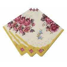 amazon com talking tables truly scrumptious floral napkins for a