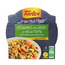 plat cuisiné tartex lance une gamme de plats cuisinés bio vegan bioaddict