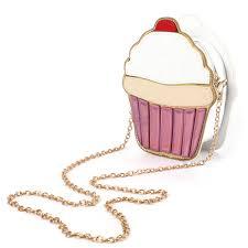 cupcake purse http gemdivine aequeen chain clutch crossbody bag