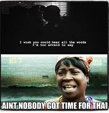 Nobody Got Time For That Meme - 180 best sweet brown ain t nobody got time for that images on
