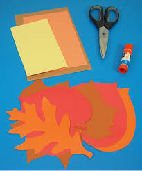 how to make a thanksgiving turkey craft spotlight project leaves with a thanksgiving turkey project