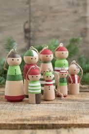diy wooden peg doll ornaments design