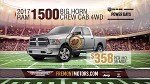 fremont chrysler dodge jeep ram start with a win at fremont chrysler dodge jeep ram