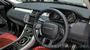 2016 Range Rover Evoque Interior At 2015 Thai Motor Expo Indian