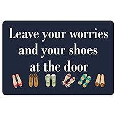 Doormat Leave Amazon Com 23 6