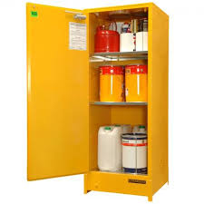 flammable liquid storage cabinet 250 litre vertical heavy duty flammable liquid storage spill ready
