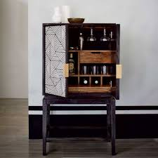 Modular Bar Cabinet Wine And Bar Furniture Dining Room Liquor Cabinets Contemporary