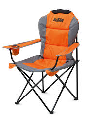 aomc mx ktm racetrack chair orange