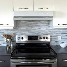 Stick On Kitchen Backsplash Smart Tiles Capri Carrera 9 88 In W X 9 70 In H Peel And Stick