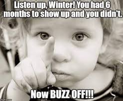 Winter Meme - the cute kid in this facebook meme is from richmond wtvr com