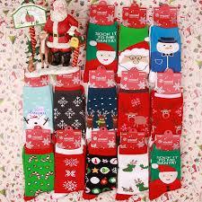 mens christmas socks christmas knit knee high socks men santa socks women deer