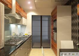 galley kitchen ideas ideas elongated galley kitchen design with modern minimalistic funriture set and all necessary appliances