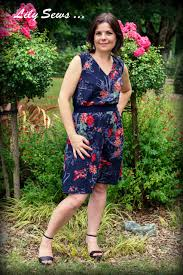 robe en dessous des genoux lily sews u2026