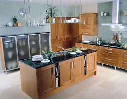kitchen light wooden floor nice white brick nice base cabinet