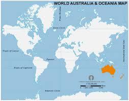 australia world map location free australia and oceania location map location map of