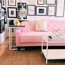 fancy pink living room furniture and best 25 pink sofa ideas only