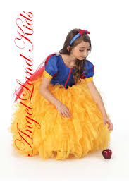 beautiful affordable girls snow white costume dresses inspired