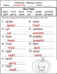 halloween worksheets print and go