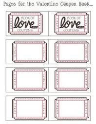 coupon book ideas for husband blank love coupon templates