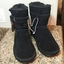 bearpaw womens boots size 9 46 paw shoes nwt paw black suede boots size