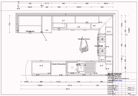 restaurant kitchen plan dwg interior design