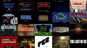 design art video a brief history of video game title design on vimeo