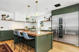 kitchen ideas with oak cabinets and stainless steel appliances 23 green kitchen ideas some photos look great and some not