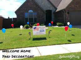 welcome home decorations welcome home yard decorations thoughtful gifts sunburst