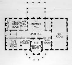 Floor Plan Of White House Architectural Improvements White House Museum