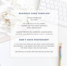 modern business card template moo card template photoshop