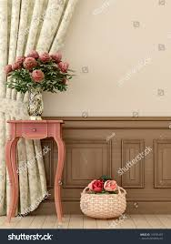 composition style provence consisting antique pink stock