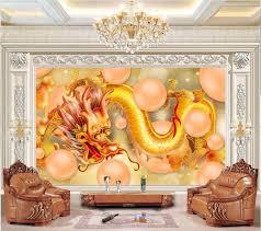 popular dragon wall murals buy cheap dragon wall murals lots from 3d room wallpaper custom photo mural dragon ball yellow dragon picture decor painting 3d wall mural