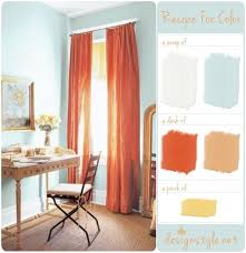 Burnt Orange Kitchen Curtains by Best 25 Orange Office Curtains Ideas Only On Pinterest Orange