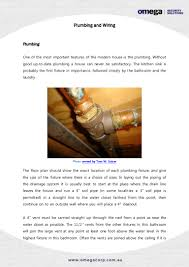 importance of good plumbing and wiring jobs in house construction