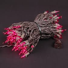 pink mini lights available on white wire green wire on 20 50 and