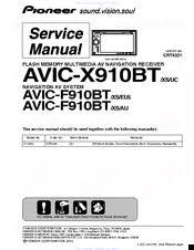 pioneer super tuner iiid avic x910bt manuals