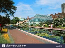 Prospect Park Botanical Garden Botanical Gardens Prospect Park New York Stock