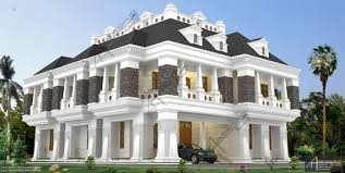 colonial luxury house plans colonial style houses in kerala house style