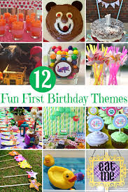 1st birthday party themes for 12 birthday party themes