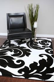 Area Rug Black And White Beverly Black White Damask Rug Area Rugs Cheap Bargain