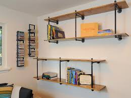 Office Shelf Decorating Ideas Simple Wall Shelf Ideas To Solve Storing Problems In A Small Room