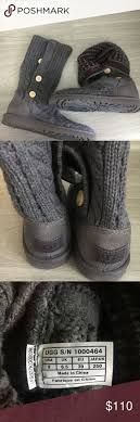 s grey ankle ugg boots