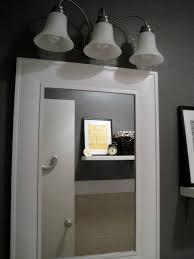 White Bathroom Mirror by Framed Bathroom Mirrors White Home